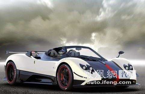 第九名:帕加尼Zonda Cinque Roadster2190万元。